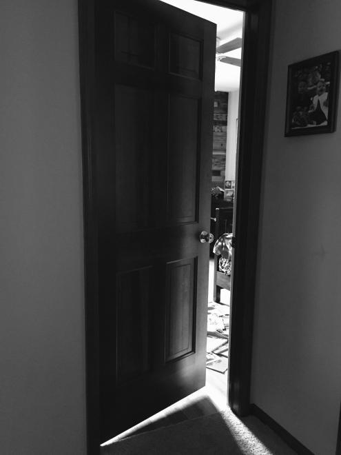 Crack in the door