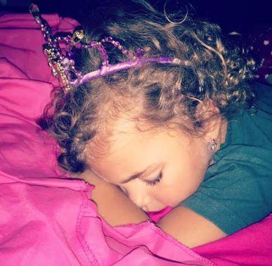 Gabby Tiara Sleep 2015